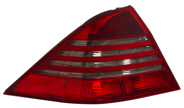 Mercedes benz s class w220 2000 2006 led tail light lenses for Mercedes benz tail light lens